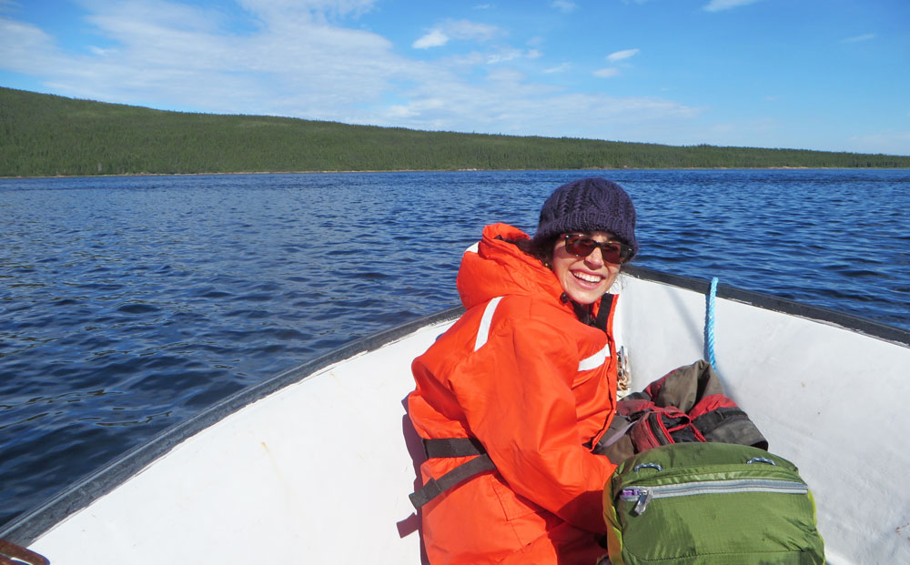 Alumna Darya Anderson researched arctic microbes