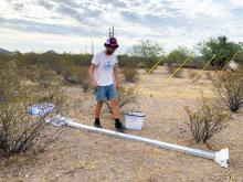 Researching microbial ecology in the Arizona Desert
