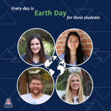 Every day is earth for environmental science students