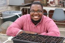 Aj Moses is doctoral student interested in advocacy