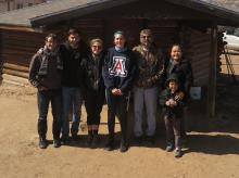 Dr. Karletta Chief works on water quality challenges on the Navajo Nation with students