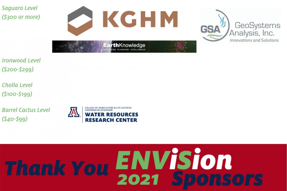 ENViSion Sponsors