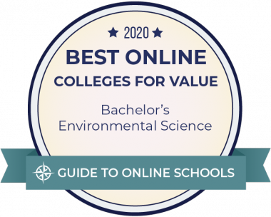 Best Online College for Value badge