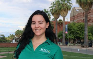 Catie Gullo at the University of Arizona