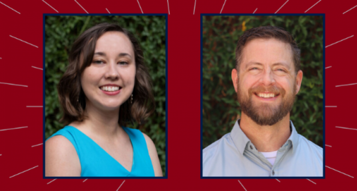 Two students announced for the Spring 2020 Outstanding Graduate Thesis and Dissertation Awards
