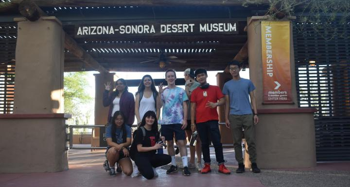 SWES Club students visited the Arizona Sonora Desert Museum